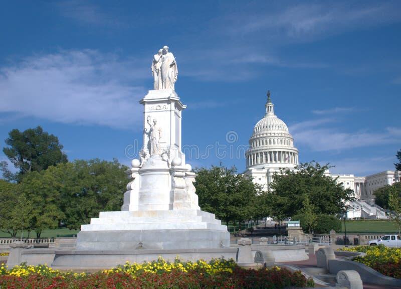 C.C. de Washington foto de stock