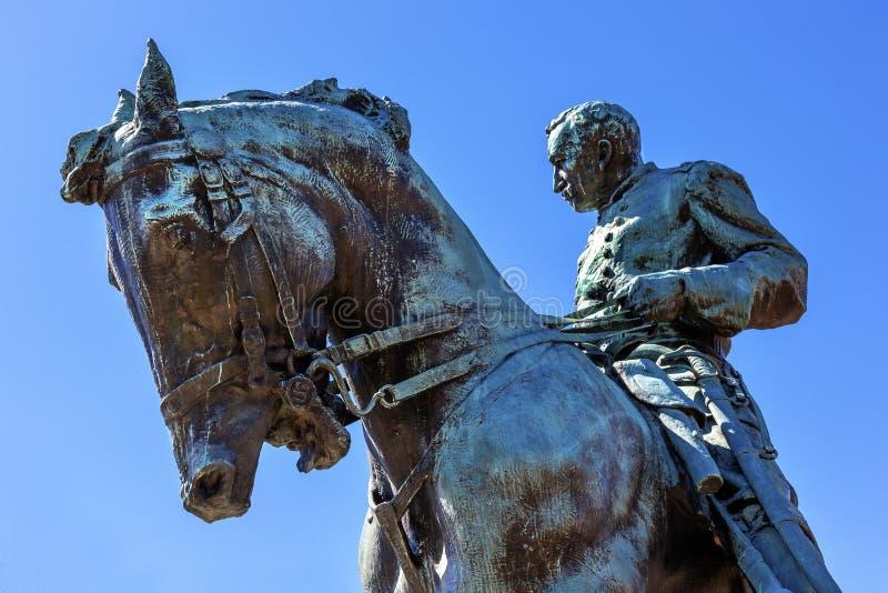 C.C. do general Phil Sheridan Statue Sheridan Circle Washington imagem de stock royalty free