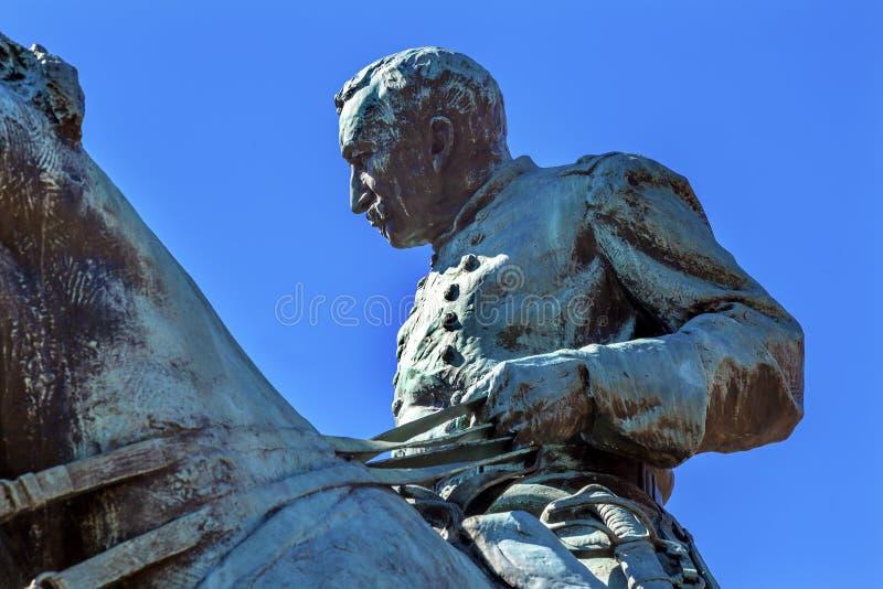 C.C. do general Phil Sheridan Statue Sheridan Circle Washington fotos de stock