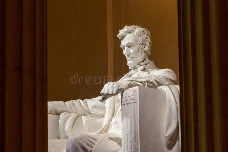 C.C. do monumento de Abraham Lincoln foto de stock