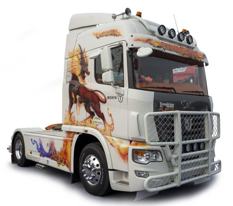 C&C Truck royalty free stock photo