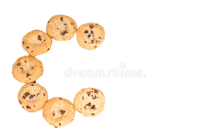 Download C Is For Chocolate Chip Cookies Royalty Free Stock Images - Image: 6272659