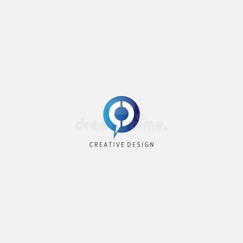 C COMUNICATION logo royalty free illustration