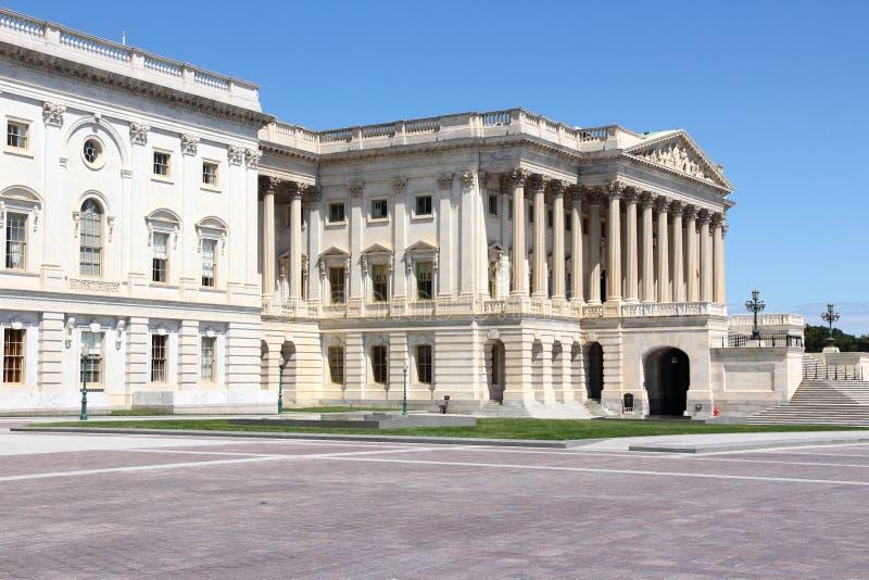 c d房子华盛顿白色 C 库存图片