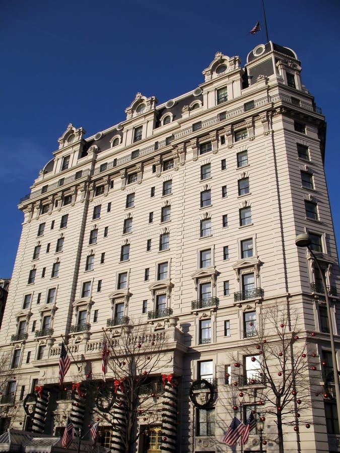 c d旅馆华盛顿willard 免版税库存照片