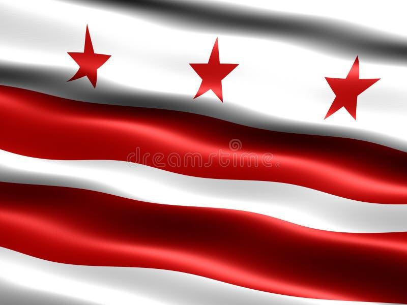 c d标志华盛顿 皇族释放例证
