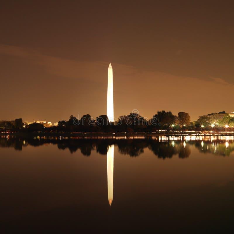 c d纪念碑美国华盛顿 免版税库存照片