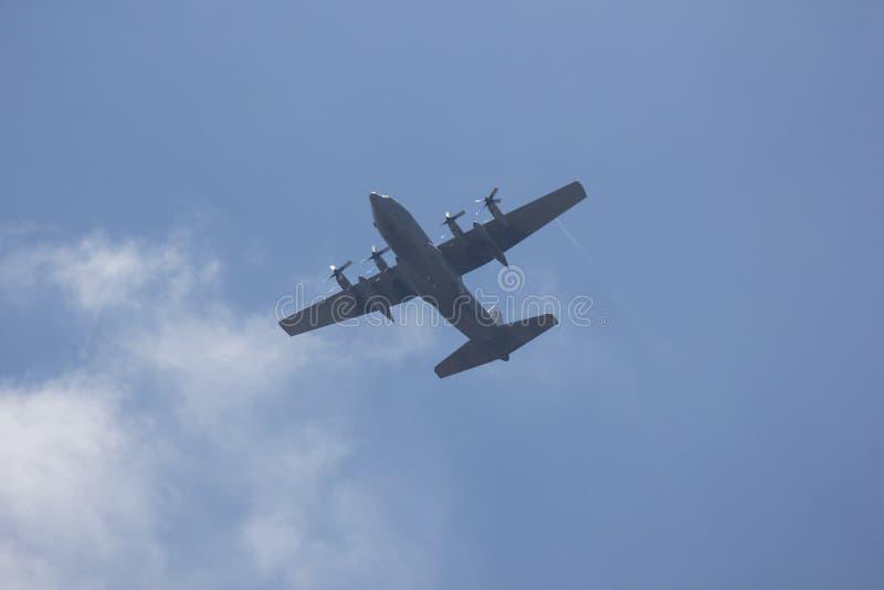C-130 de l'Arm?e de l'Air tha?landaise royale image stock