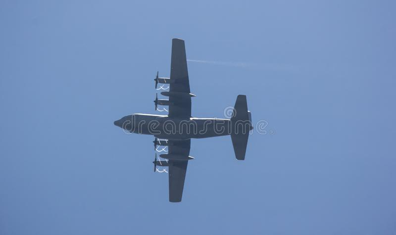 C-130 de l'Arm?e de l'Air tha?landaise royale images stock