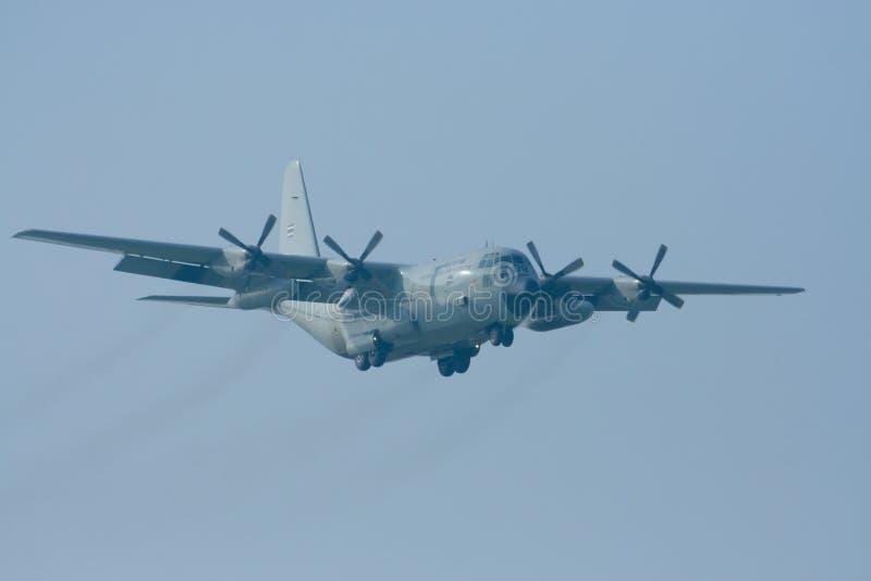 60108 C-130 dell'aeronautica tailandese reale immagini stock libere da diritti