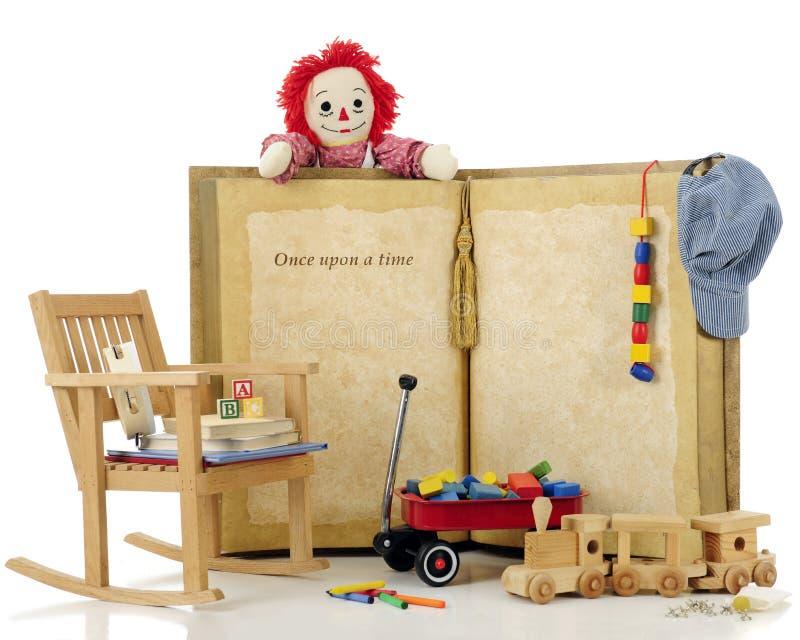 C'era una volta giocattoli fotografia stock libera da diritti