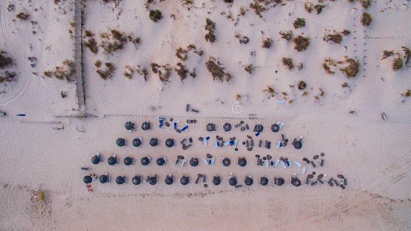 C'est des cabanes dans Algarve images stock