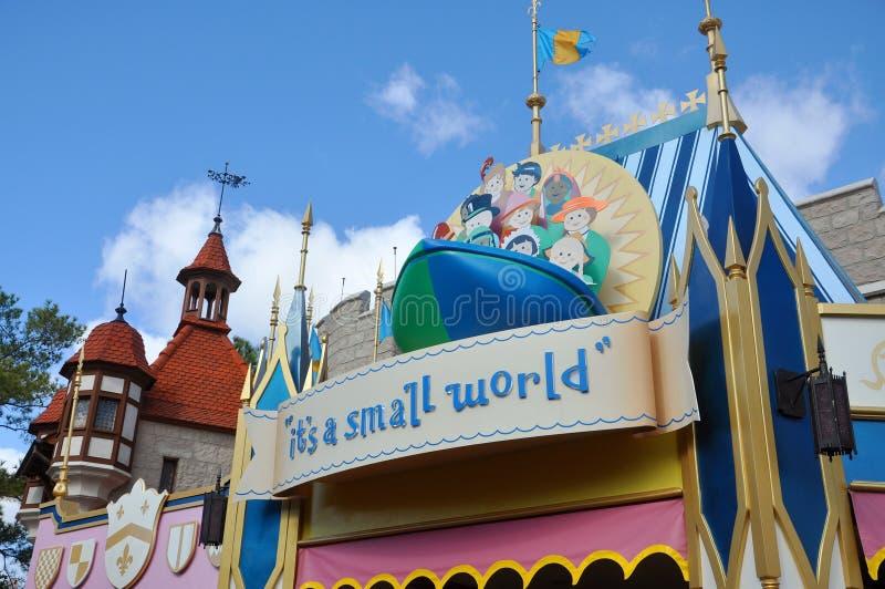 C'est un petit monde en monde Orlando de Disney photo libre de droits