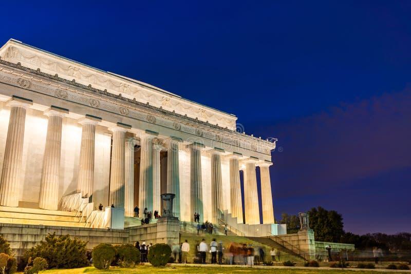 C.C Etats-Unis de Lincoln Memorial Washington images stock