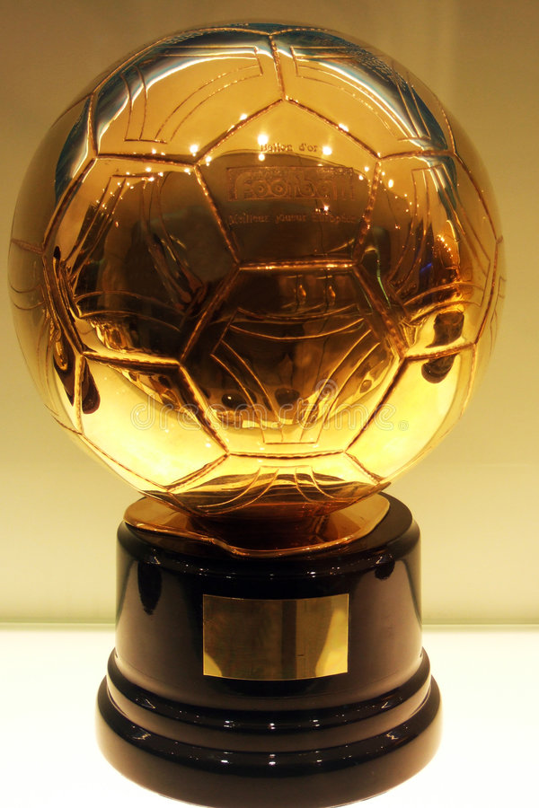 c football golden ronaldo στοκ εικόνες