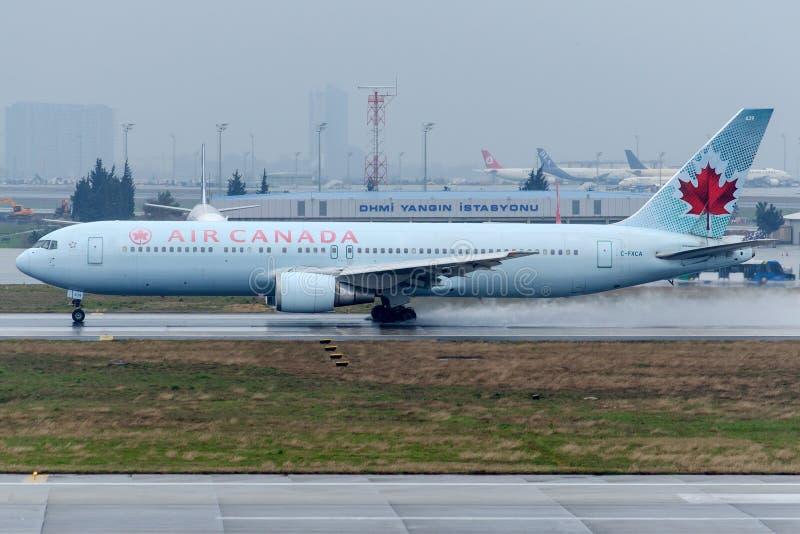 C-FXCA Air Canada, Boeing 767-375/ER zdjęcia royalty free