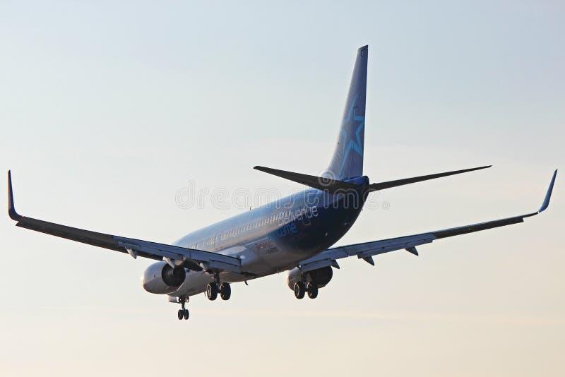 C-FYQO Air Transat Боинг 737-800 стоковые изображения rf