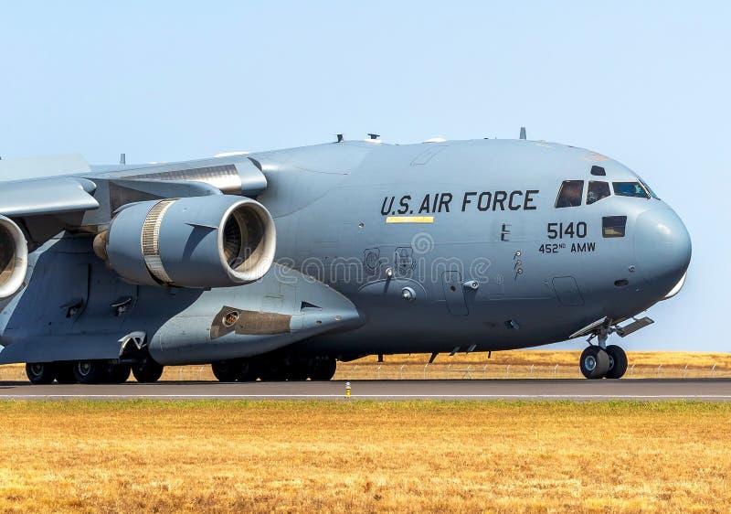 C-17A Globemaster III foto de stock