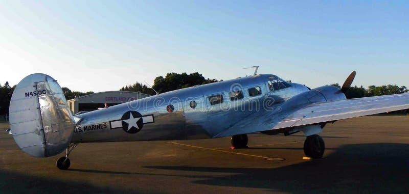 C45H型WW2舰载机停机坪 库存照片