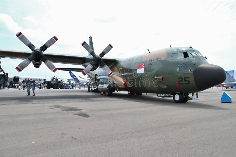 C130 Hercules imagem de stock