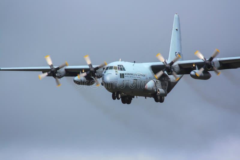 C-130 hercules royalty-vrije stock afbeeldingen