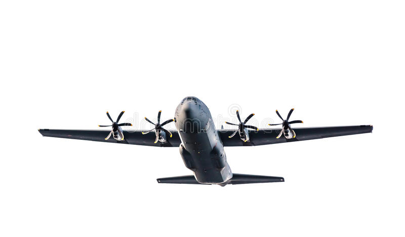 C-130 hercules stock foto