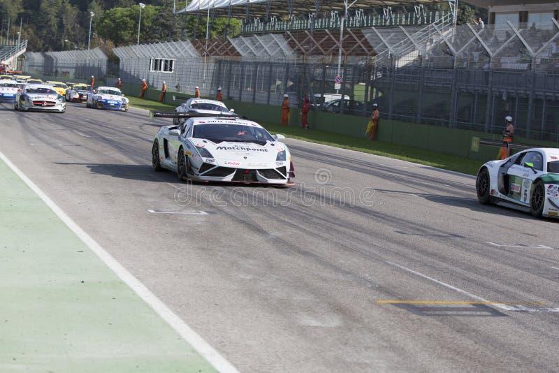 C I Carreras de coches de Gran Turismo foto de archivo libre de regalías