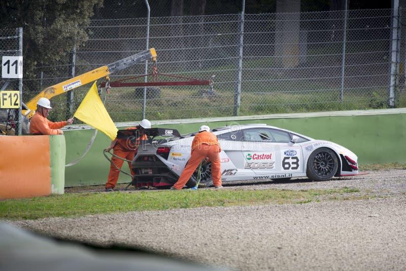 C I Carreras de coches de Gran Turismo fotos de archivo libres de regalías