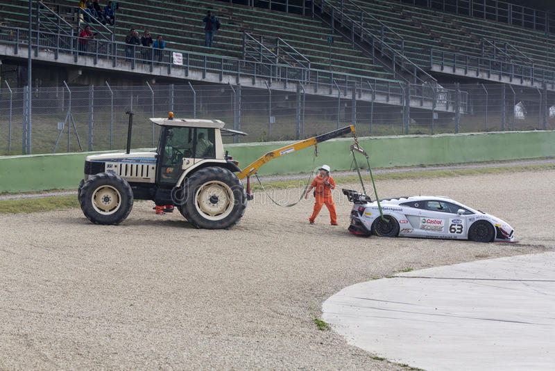 C I Carreras de coches de Gran Turismo imágenes de archivo libres de regalías