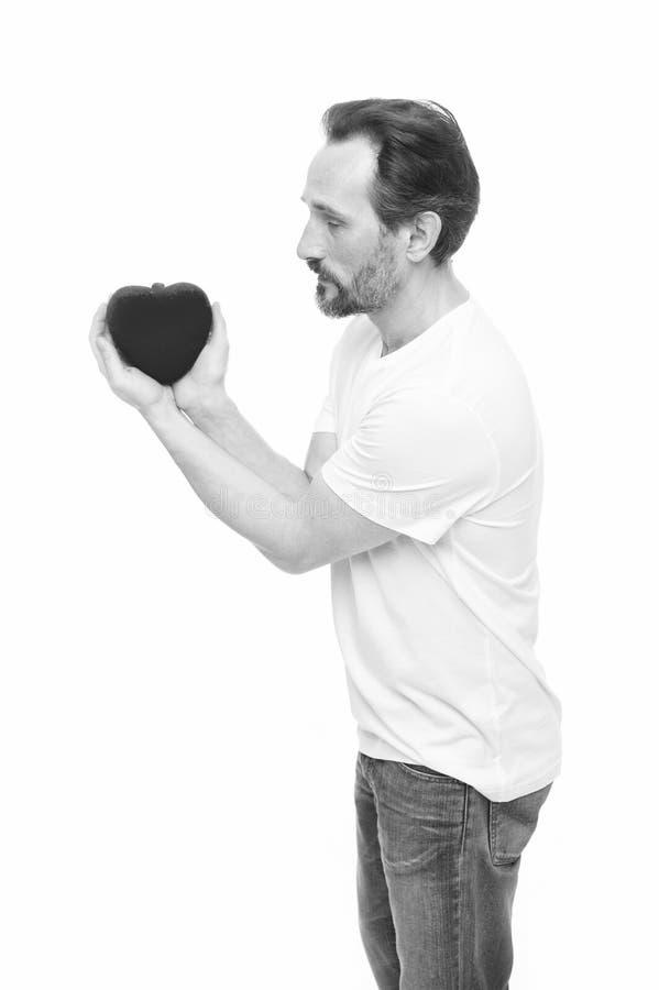 C?l?brez le jour de valentines Amour et concept romantique de sentiments Attribut de coeur de valentine Pr?sent de cadeau de coeu image libre de droits