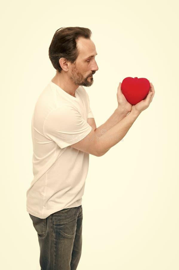 C?l?brez le jour de valentines Amour et concept romantique de sentiments Attribut de coeur de valentine Pr?sent de cadeau de coeu images libres de droits
