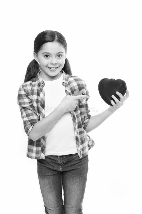 C?l?brez le jour de valentines Amour et concept romantique de sentiments Attribut rouge de coeur de valentine Cadeau ou pr?sent d photo libre de droits