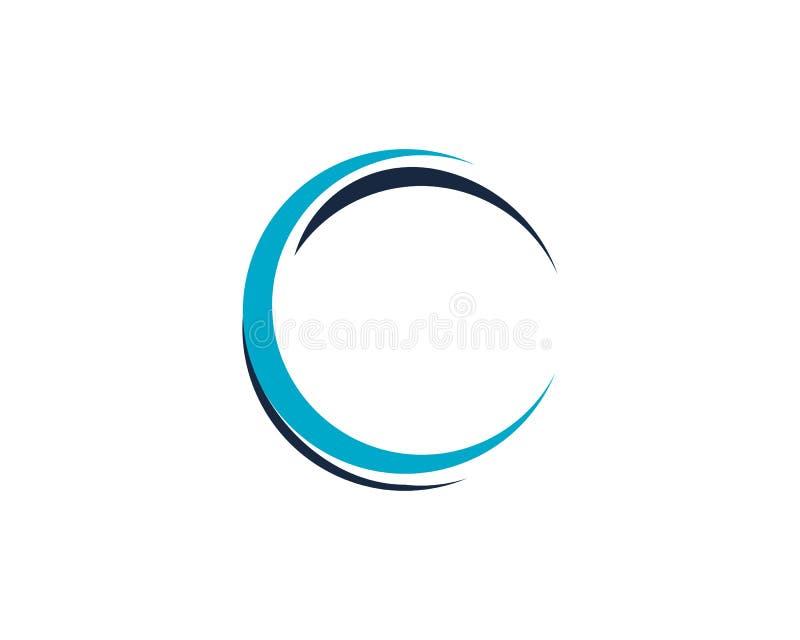 C Letter Logo Template stock illustration