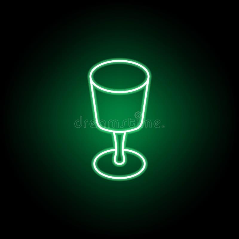 C?lice, ?cone ocasional do almo?o Pode ser usado para a Web, logotipo, app m?vel, UI, UX ilustração stock