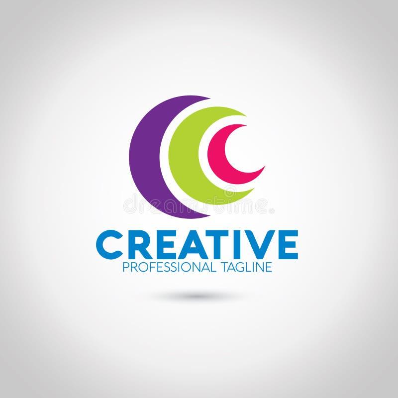 C listu logo obraz royalty free