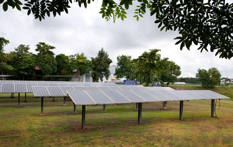 C?lulas solares foto de archivo libre de regalías