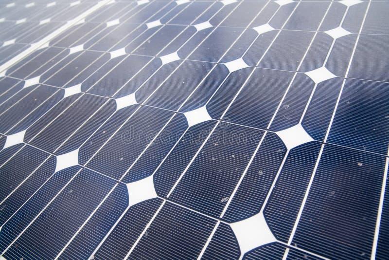 C?lulas solares fotografía de archivo