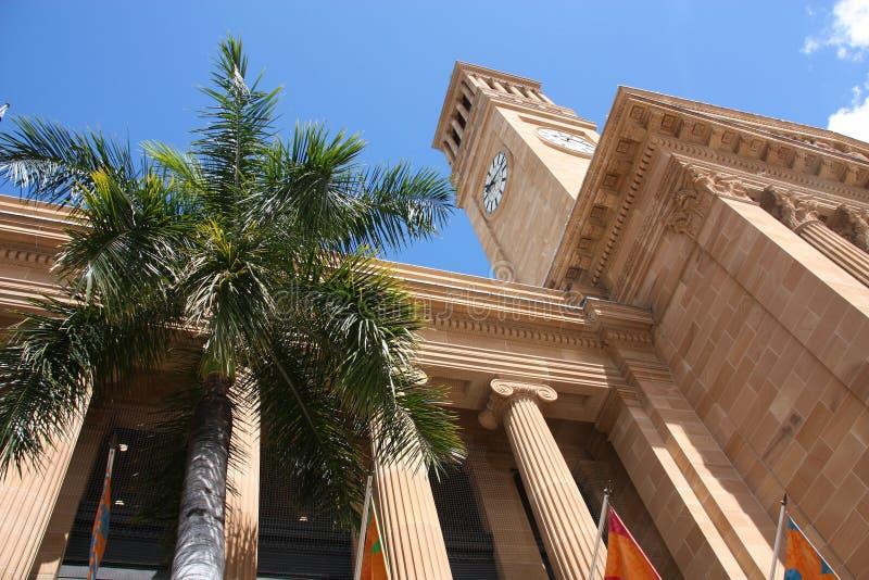 C?mara municipal de Brisbane imagens de stock