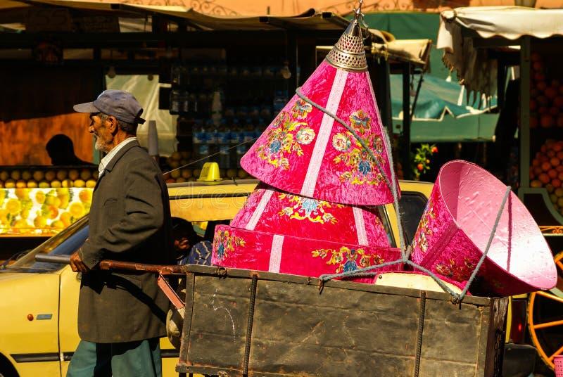 C4marraquexe, Marrocos, África foto de stock