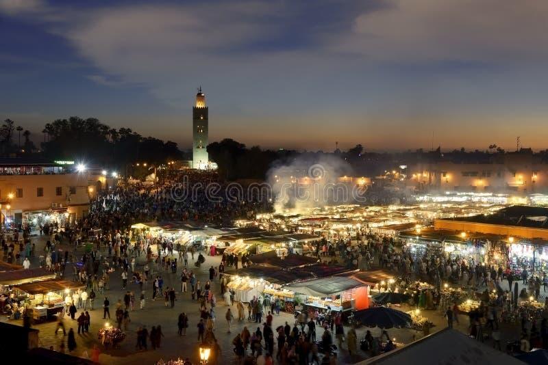 C4marraquexe Marrocos imagens de stock