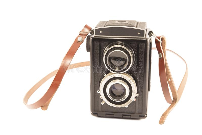 C?mera do vintage 35mm SLR foto de stock