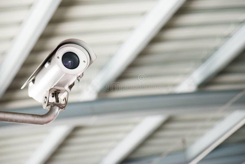 C?mera ou sistema de vigil?ncia do CCTV da seguran?a C?mera do CCTV, c?mara de vigil?ncia, c?mara de vigil?ncia video imagem de stock