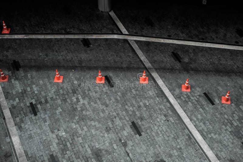 Cône orange images libres de droits