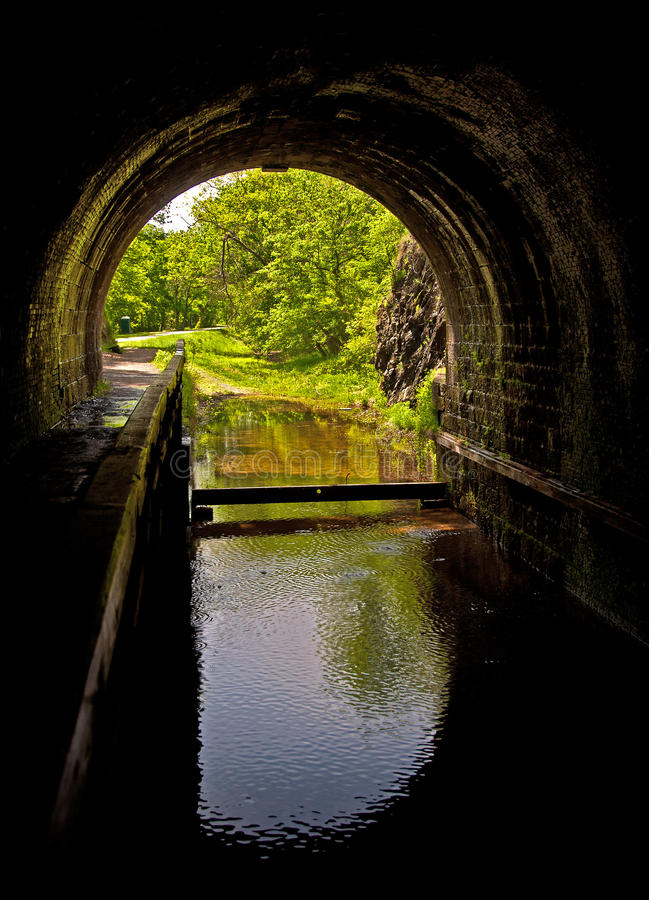 Download C&O Canal Paw Paw Tunnel stock photo. Image of national - 19577768