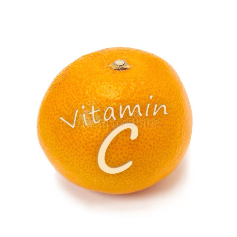 c-orangevitamin arkivfoton