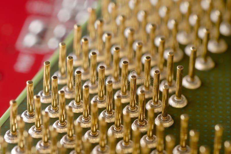 C.P.U. компьютера стоковая фотография rf
