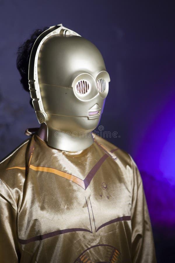 C-3PO photographie stock