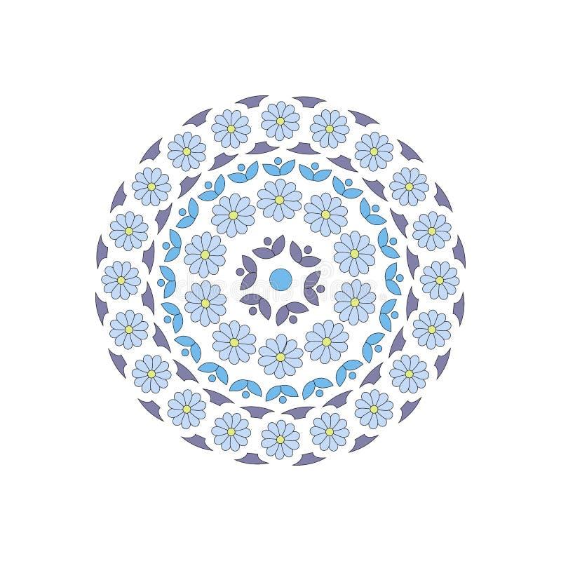 C?rculo ornament ilustración del vector