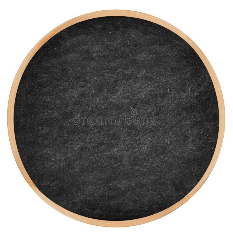 C?rculo redondo do quadro/quadro-negro foto de stock royalty free