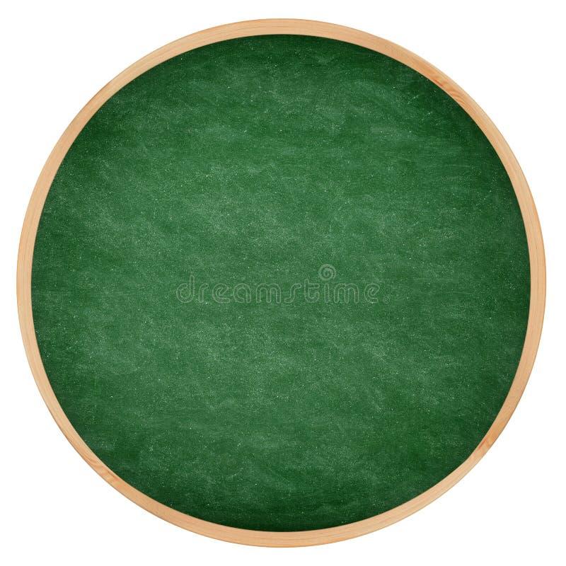 C?rculo verde redondo do quadro ou do quadro-negro imagens de stock